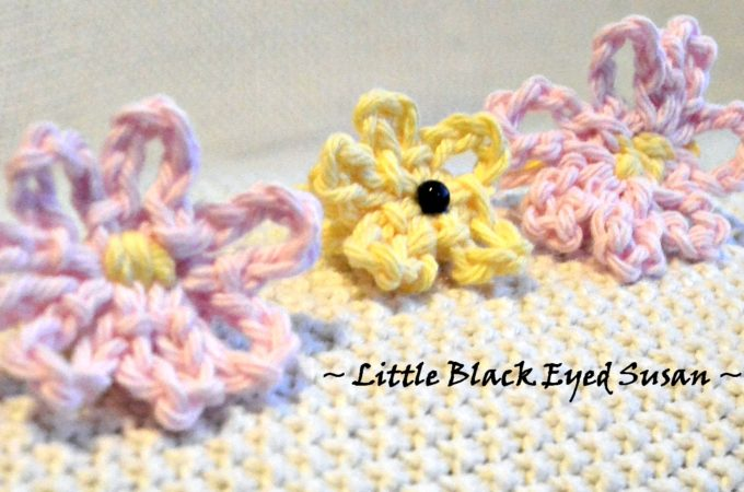 Beginner Crochet Black Eyed Susan