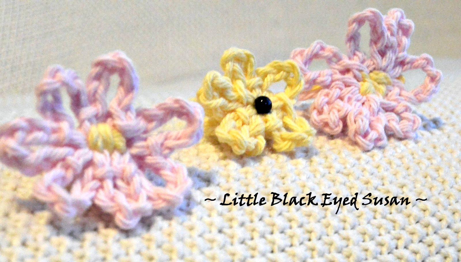 Beginner Crochet Black Eyed Susan