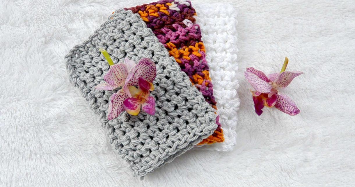 True Beginner First Project Crochet Washcloth Mama In A Stitch