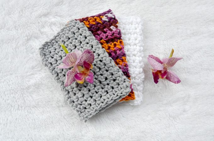 True Beginner-First Project Crochet Washcloth