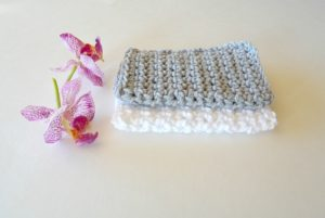 beginner crochet washcloth
