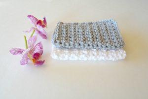 beginner crochet washcloth