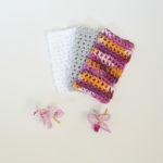 new three crochet washcloths