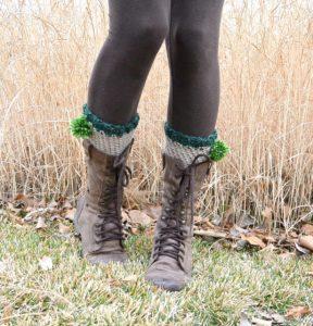 Classy Leprechaun Easy Crochet Boot Cuffs