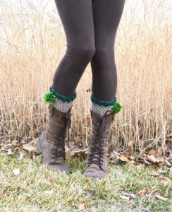 Crochet Boot Cuffs 3