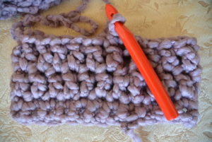 How to crochet cowl
