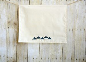 Mountains  2 Stamped Tea Towel