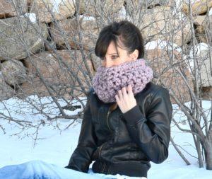 crochet One hour cowl