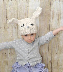Knit Bunny Ears 6