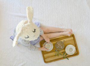 Knit Bunny Hat 5