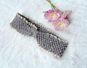 Knit Cinched Headband