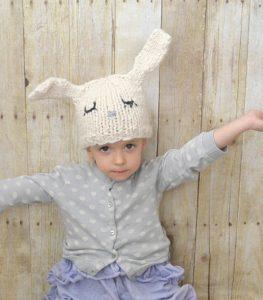 Rabbit Knit Bunny ears