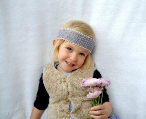 Seed Stitch Headband Beginner