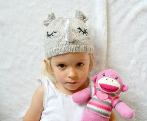 Boy or Girl Rhino Hat