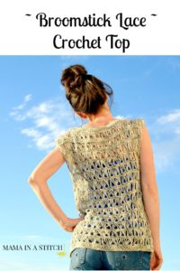 Broomstick Crochet Top