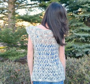 Crochet Broomstick Summer Top