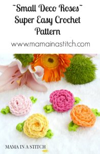 Easiest Crochet Roses