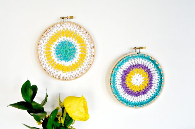 Crochet Mandala Hoops / Wall Hangings
