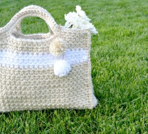 Pretty Large Crochet Tote