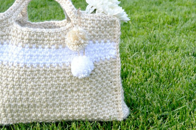 Big Easy (and stylish) Crochet Bag Pattern