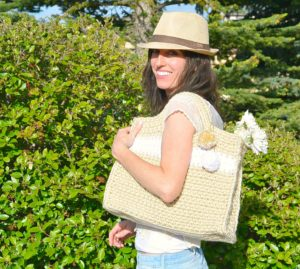 Stylish Crochet Summer Bag