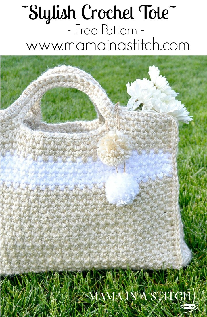 Big easy and stylish crochet bag pattern mama in a stitch stylish crochet tote free pattern bankloansurffo Choice Image