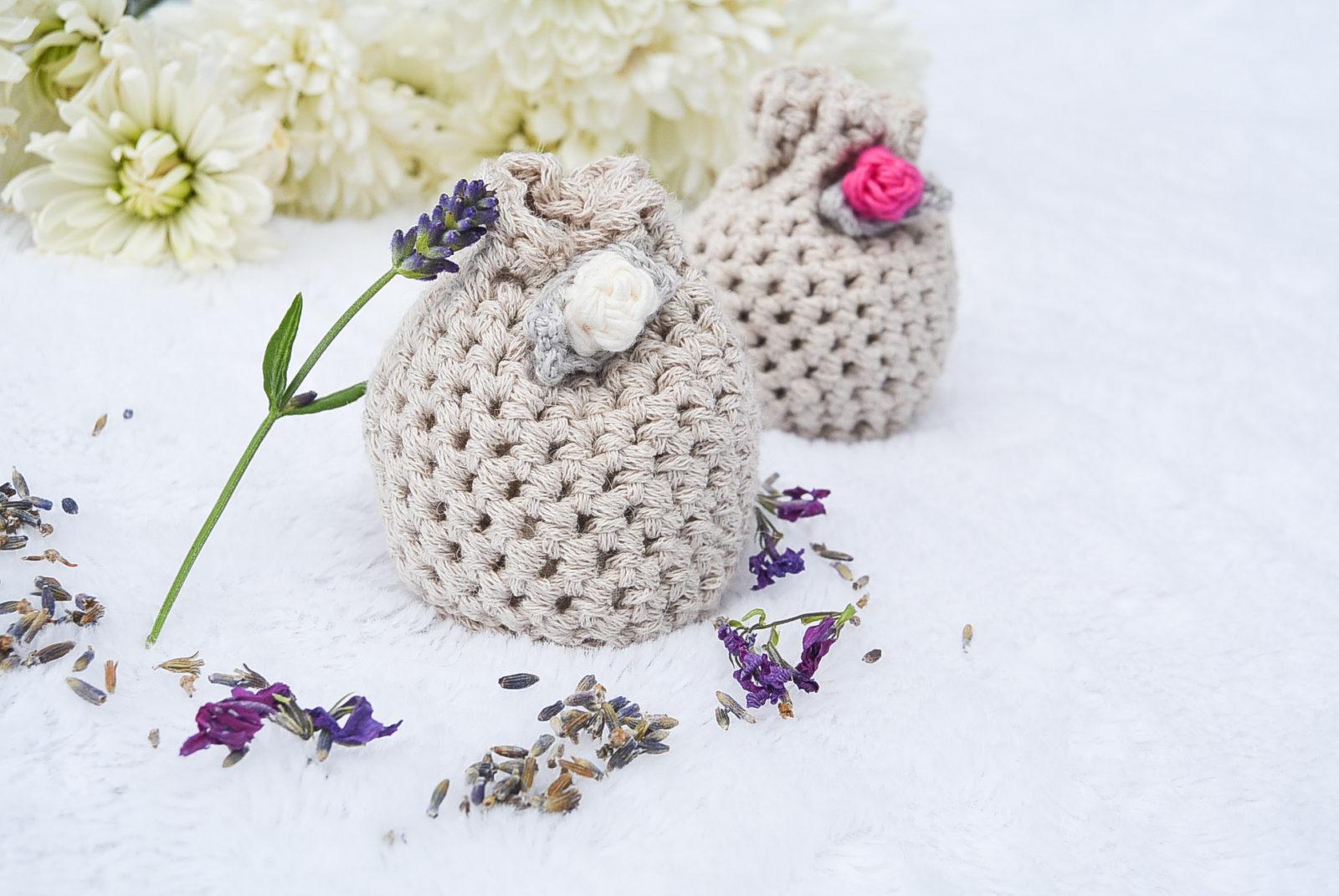 Lovely Lavender Crochet Sachets
