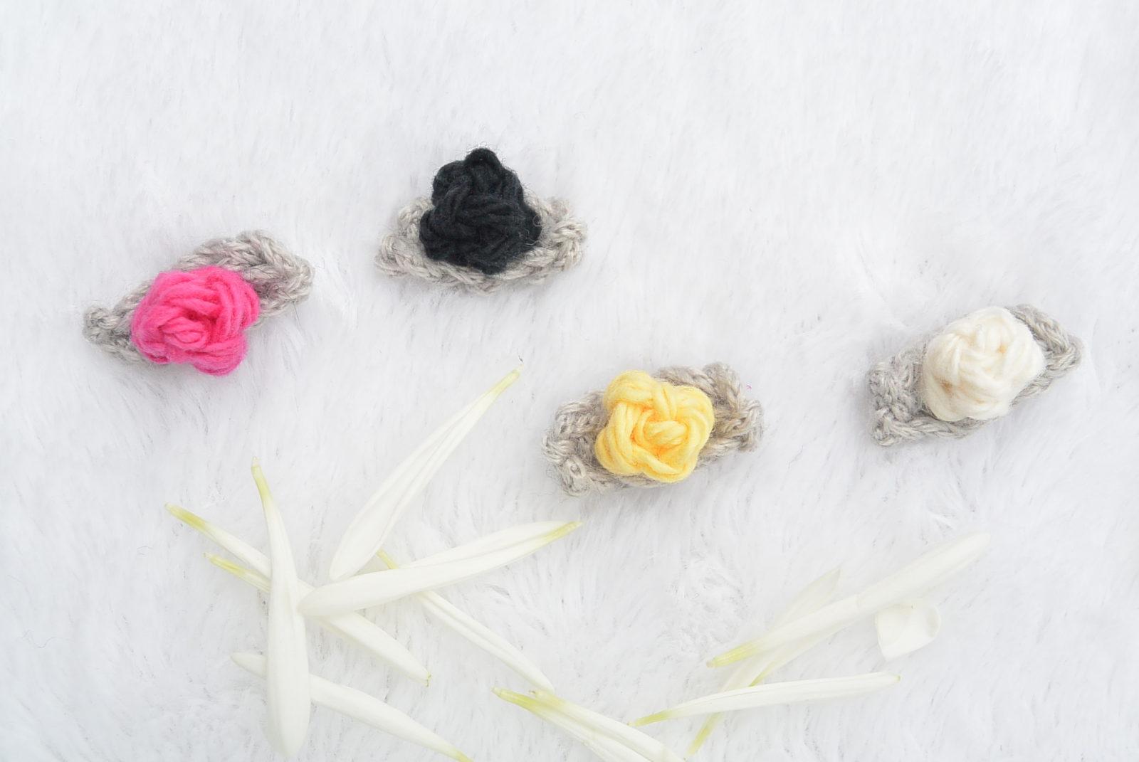 Teeny Tiny Crochet Flower Buds Mama In A Stitch