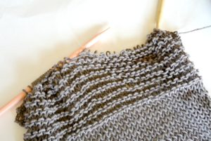 Easy Knit Tank Top Portion