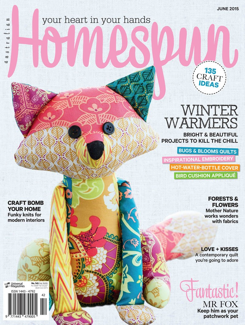 My Project's in Homespun Magazine!