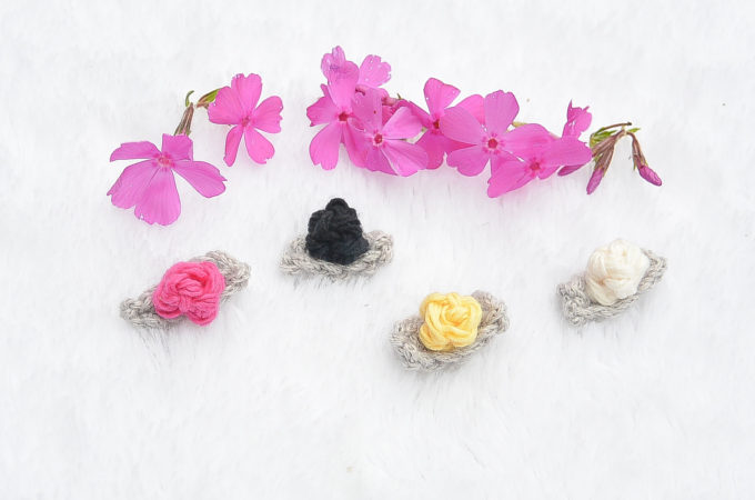 Teeny Tiny Crochet Flower Buds