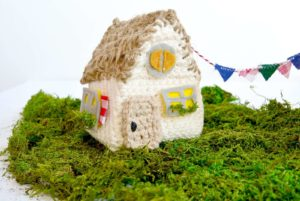 Crochet House Pattern with Toys
