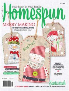 Homespun July Cover