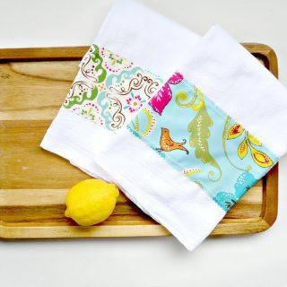 How to Make Tea Towel
