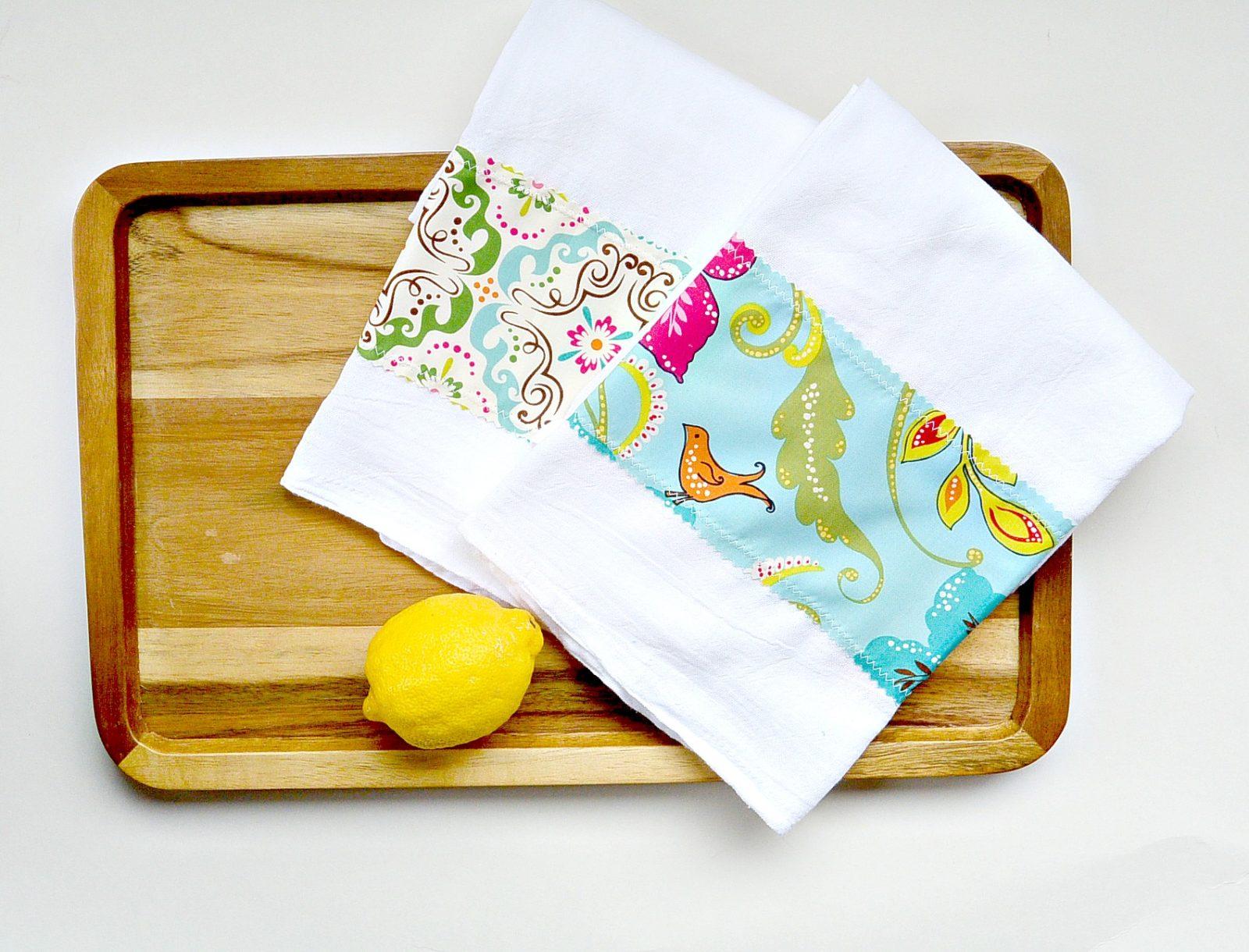 Yarn Break – Easy DIY Tea Towels