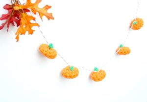 Autumn Crochet Garland