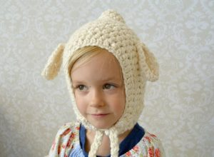 Beginner Crochet Lamb Hat 3