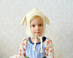 Beginner Crochet Lamb Hat Pattern