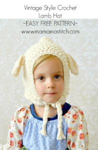 Beginner Easy Lamb Hat Pattern