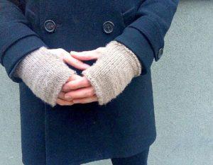 Easy Fingerless Gloves for Men