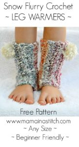 Beginner Friendly Easy Crochet Leg Warmer Pattern