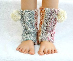 Easy Crochet Leg Warmers 5