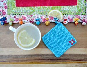 Easy Knit Coaster