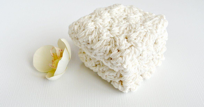 Bath House Spa Crochet Washcloths Free Pattern Mama In A Stitch