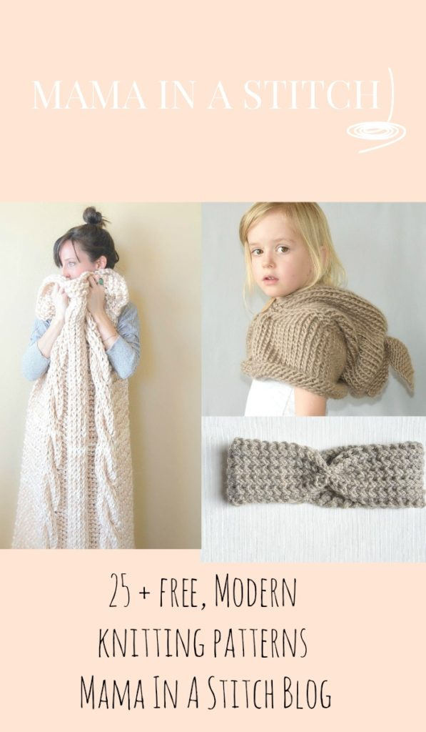 Free Modern Easy Knitting Patterns