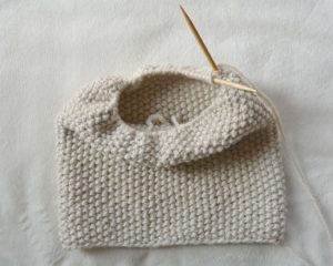 Modern knit hat pattern