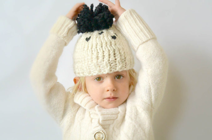 Everyday Chunky Knit Toddler Hat Pattern