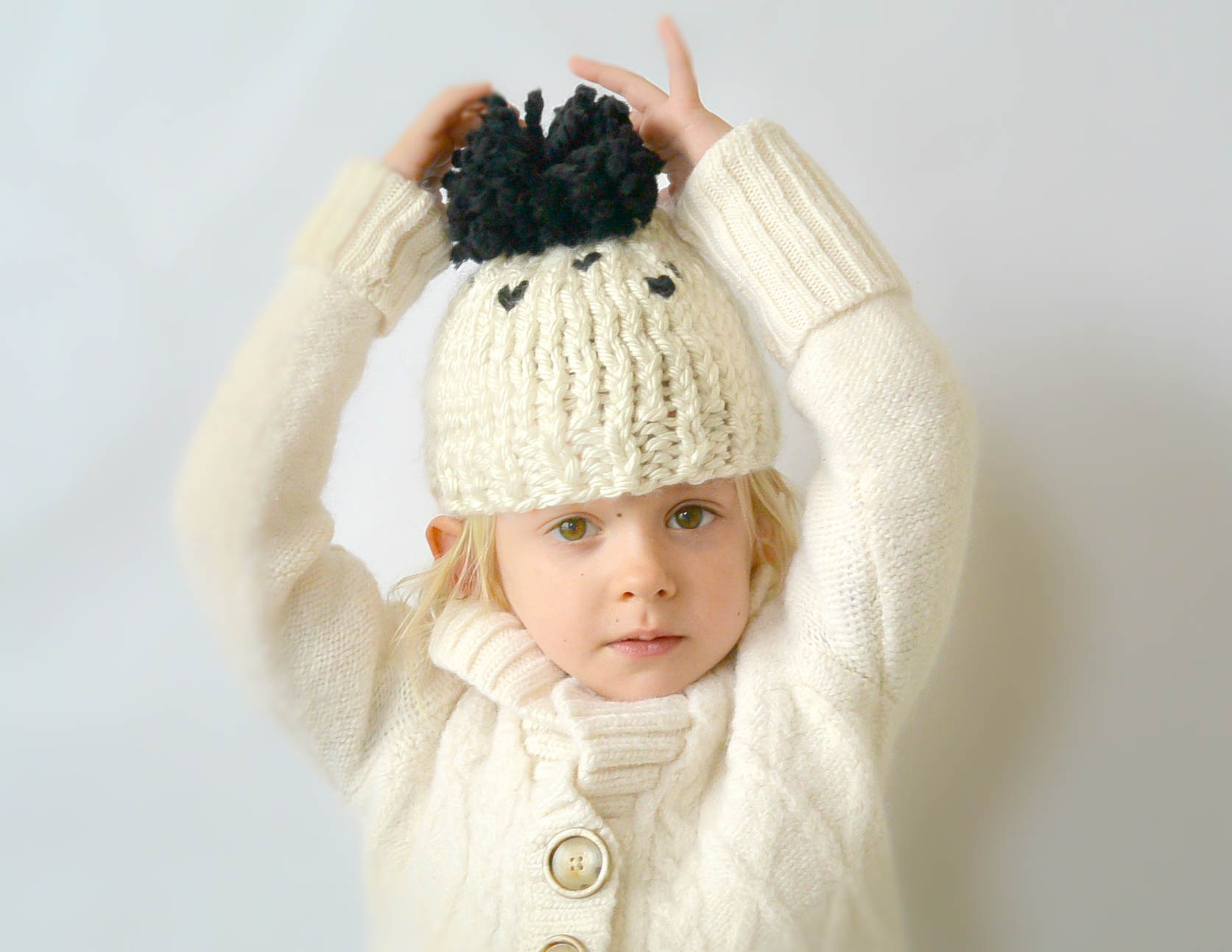 Everyday Chunky Knit Toddler Hat Pattern Mama In A Stitch