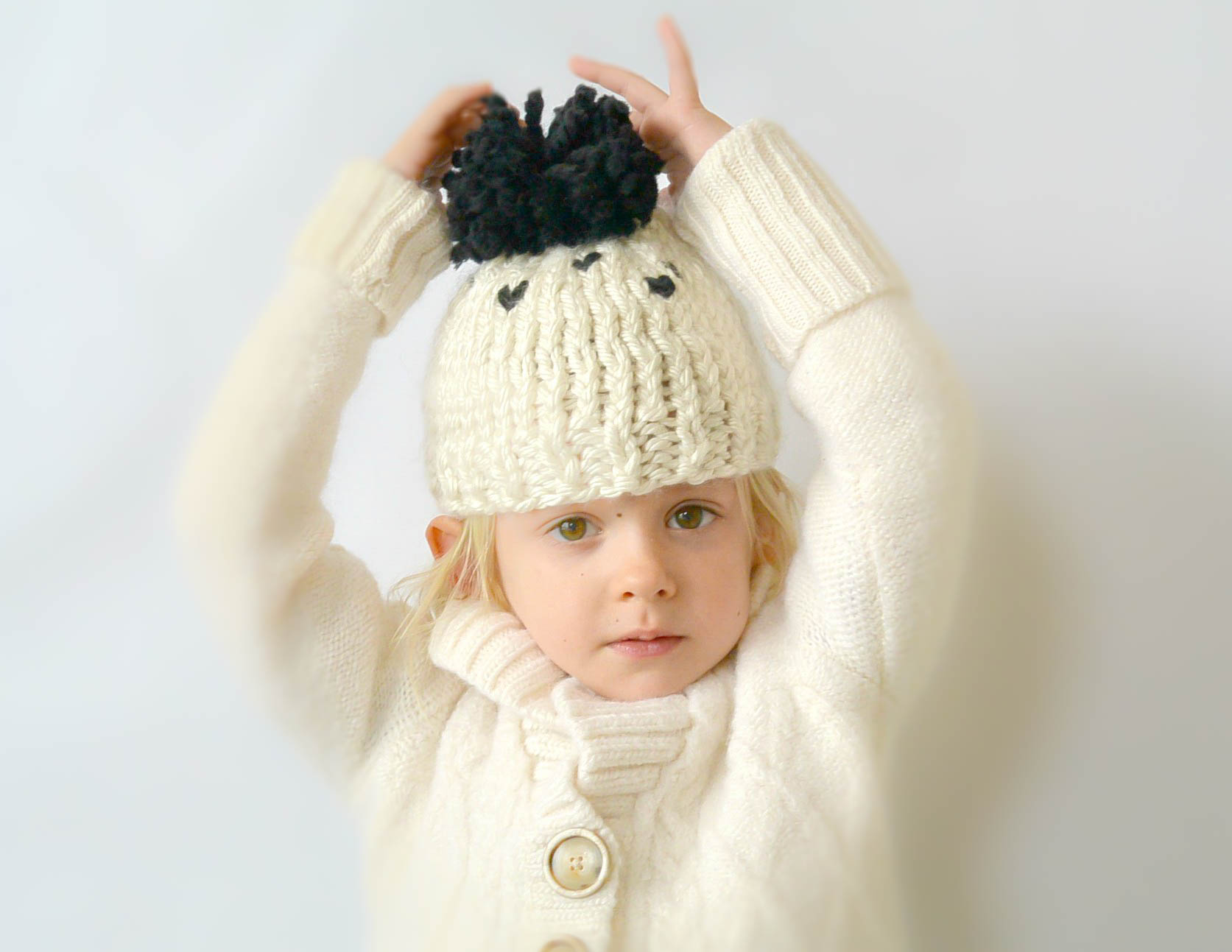 Knitting Patterns For Toddler Hats : Everyday Chunky Knit Toddler Hat Pattern   Mama In A Stitch