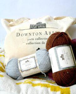 Fisherman Headband and Premier Yarns Downton Abby Collection
